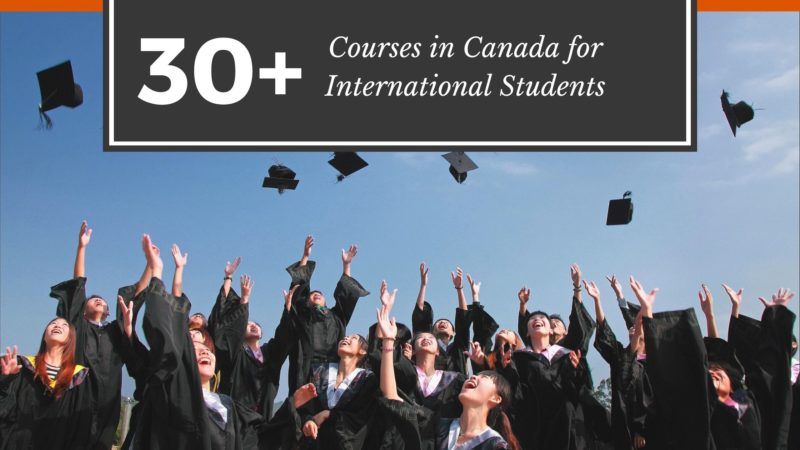 30+ Cheapest Courses in Canada For International Students