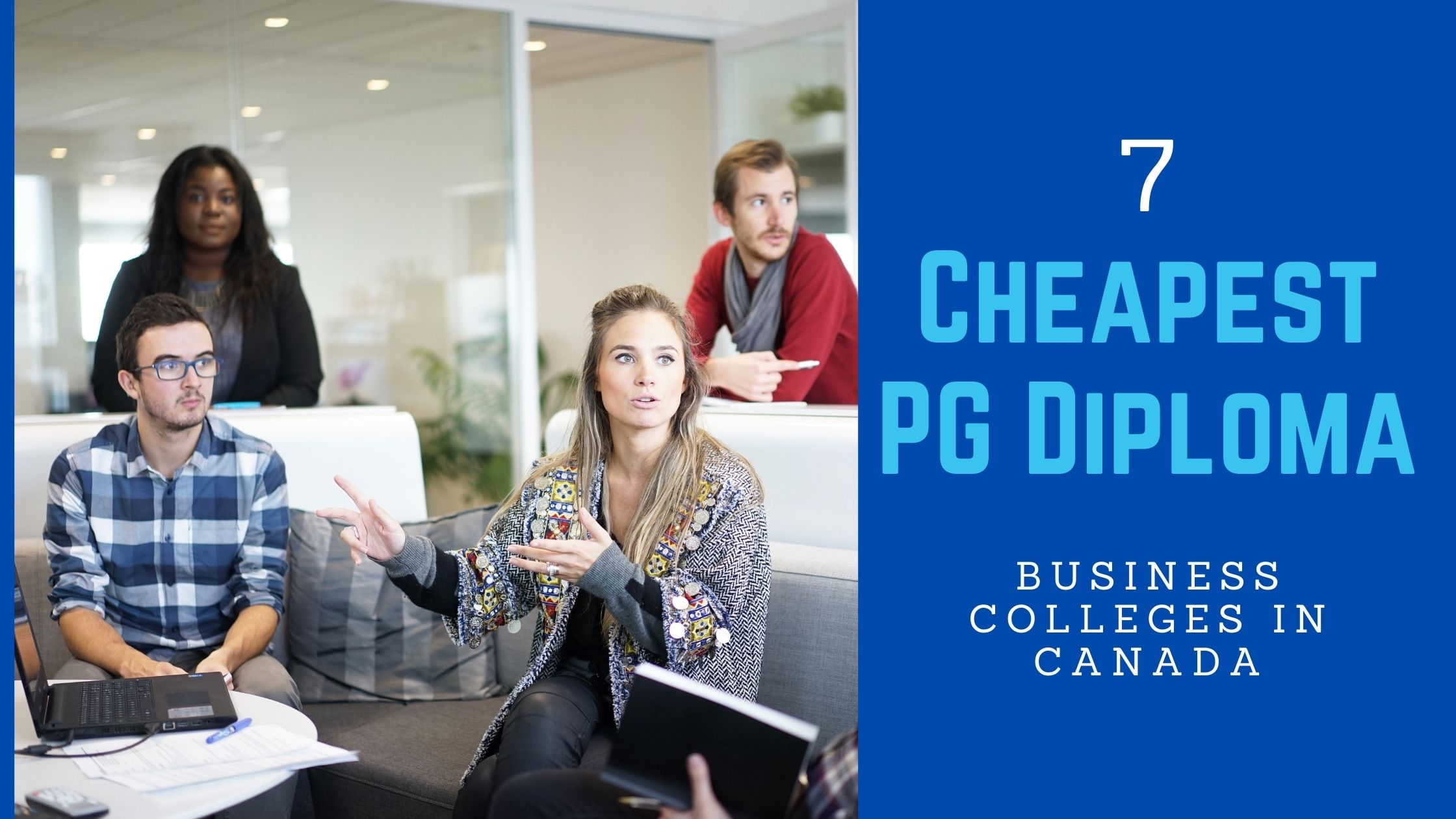 7 Cheapest PG Diploma: Business Colleges in Canada