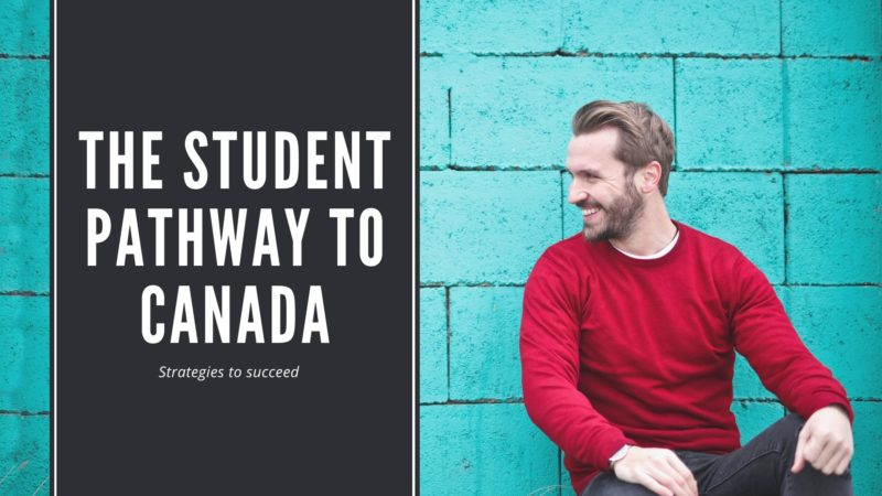 The student pathway to Canada