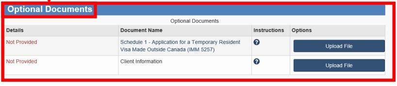 extend canada study permit optional document