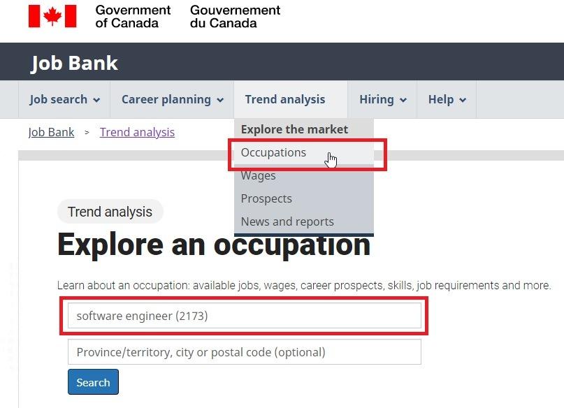 job bank in canada