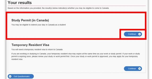 select study permit in Canada