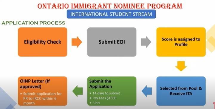 EOI Process for International Student