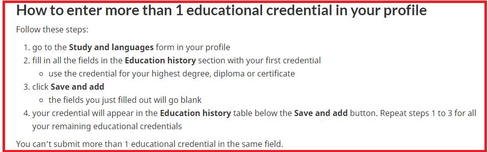 more than ECA certificate number